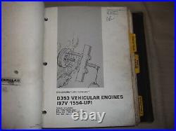 Cat Caterpillar D9h Tractor Dozer Service Shop Repair Manual Book S/n 90v