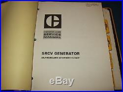 Cat Caterpillar Electric Set Generators Service Shop Repair Book Manual