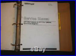 Cat Caterpillar Gp15 Gp18 Gp20 Gp25 Gp30 Forklift Service Shop Repair Manual