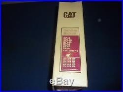 Cat Caterpillar Gp40 Gpl40 Dpl40 Dp40 Dp45 Dp50 Forklift Service Repair Manual