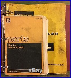 Cat Caterpillar No. 12 Motor Grader Parts & Repair Service Manual