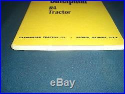 Cat Caterpillar R4 Crawler Tractor Dozer Service Shop Repair Manual Book