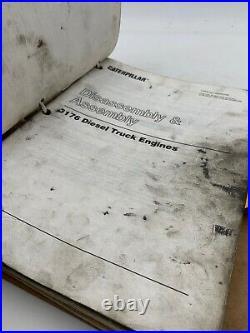 Cat Caterpillar Service Manual 3176 7LG Shop Repair Book Original OEM 19-3048AO