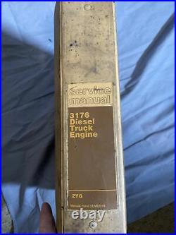 Cat Caterpillar Service Manual 3176 Diesel Truck Engine 2YG Shop Repair Book