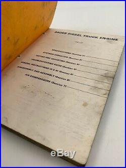 Cat Caterpillar Service Manual 3406B 7FB Shop Repair Book Diesel 19-3048T
