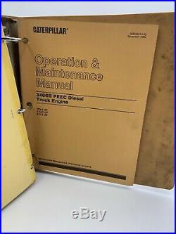 Cat Caterpillar Service Manual 3406B PEEC Repair 2EK 5YG 8TC 19-3097