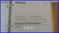 Cat Caterpillar Service Manual Shop Repair C10 C12 IYN 2PN Book OEM 19-3048AE