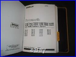 Cat Caterpillar T40d T40e T50d T50e V40d V40e V50d V50e Service Repair Manual