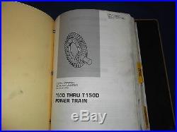 Cat Caterpillar T60d T70d T80d T90d T100d T125d Service Shop Repair Book Manual