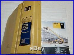 Cat Caterpillar TH350B TH360B TH460B TH560B Telehandler Service Manual. 10 Books