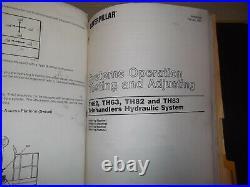 Cat Caterpillar Th62 Th63 Th82 Th83 Telehandler Service Manual 4tm 3kn 3nn 3rn