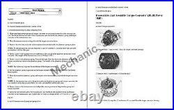 Cat D3C Series 1 and 2 Crawler Dozer Service Manual CD-ROM
