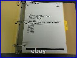 Caterpillar 140H 160H Motor Grader Repair Service Manual Disassembly Assembly