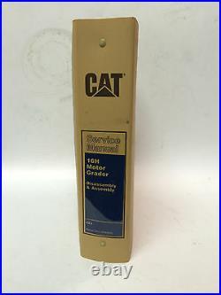 Caterpillar 16H Motor Grader Service Manual, Disassemble & Assembly, S/N 6ZJ