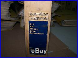 Caterpillar 214 224 Wheel Type Excavators Service Manual S/n 1kb 5tc 2jc 9mb