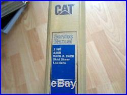 Caterpillar 216B 226B 232B 242B Skid Steer factory service manual OEM