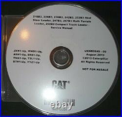 Caterpillar 216b3 226b3 236b3 242b3 252b3 247b3 257b3 Service Repair Manual CD