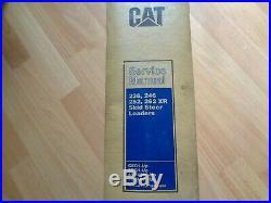 Caterpillar 236 246 252 262 XR Skid Steer Loader service manual CED FDG 4YZ 5SZ