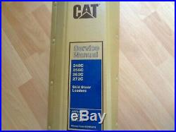 Caterpillar 246C 256C 262C 272C Skid Steer Loader service manual JAY DWS MST RED