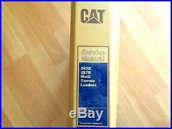 Caterpillar 247B 257B Multi Terrain Loader factory service manual MTL SLK OEM