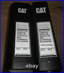 Caterpillar 303.5e2 304e2 305e2 305.5e2 Cr Excavator Service Shop Repair Manual