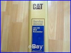 Caterpillar 303 CR Mini Excavator factory service manual DMA CAR OEM