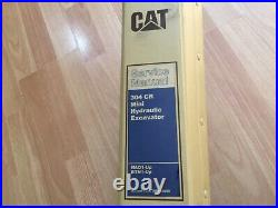 Caterpillar 304 CR Mini Hydraulic Excavator factory service manual OEM NAD BRN
