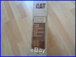 Caterpillar 3054 3056 industrial & generator set engine service manual OEM