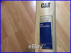 Caterpillar 307 Excavator factory service manual set 2PM1 OEM