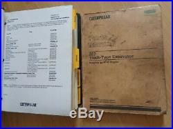Caterpillar 307 Excavator service manual + parts manual 2PM257-UP OEM