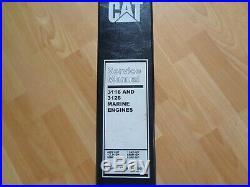 Caterpillar 3116 3126 marine engines factory service manual OEM
