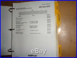 Caterpillar 3116 Diesel Truck Engine factory service manual 2BK1 2FR1 OEM