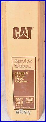 Caterpillar 3126B and 3126E Service Manual