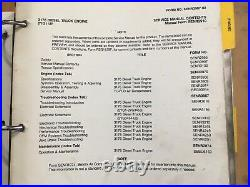 Caterpillar 3176 Diesel Truck Engine factory service manual 2YG Up OEM