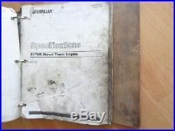 Caterpillar 3176B diesel truck engine factory service manual 9CK1 OEM