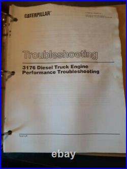 Caterpillar 3176diesel Truck Engine Service Manual 7lg1-up