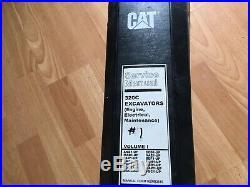 Caterpillar 320C Excavator factory service manual Engine Electric & Maint. OEM