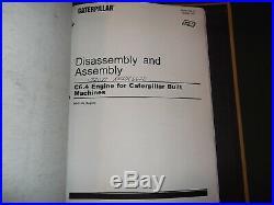 Caterpillar 320d L Excavator Engine Service Shop Repair Manual Book Volume 1