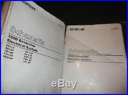 Caterpillar 320d L Excavator Service Shop Repair Manual Book Volume 2