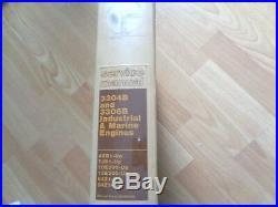 Caterpillar 3304B 3306B Industrial & Marine Engines service manual 4XB 84Z UP