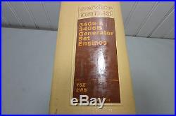 Caterpillar 3406 & 3406B Generator Set Engines Service Manual 75Z 2WB SENR2557