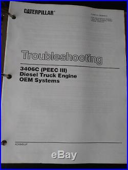 Caterpillar 3406C engine manuals service shop repair, O&M, troubleshooting+