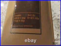 Caterpillar 3408 3412 Generator Set Engine factory service manual