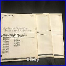 Caterpillar 345B 345B L Series II Excavator Service Manual AGS AKJ AKX APB ALB