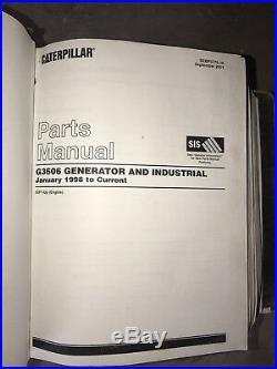 Caterpillar 3600 Parts And Service Manuals