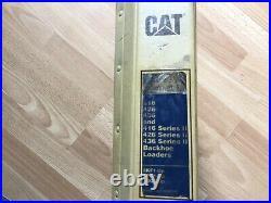 Caterpillar 416 426 436 Series I & II Backhoe Loaders factory service manual