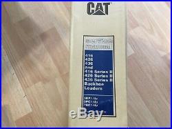 Caterpillar 416 426 436 Series I & II Backhoe Loaders factory service manual OEM