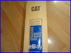 Caterpillar 416 426 436 Series I & II backhoe loader service manual 5KF 5PC 7BC