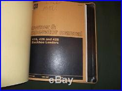Caterpillar 416 426 Backhoe Loader Shop Repair Service Manual S/n 5pc 7bc