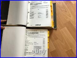 Caterpillar 416D 442D Backhoe Loaders factory service manual set OEM